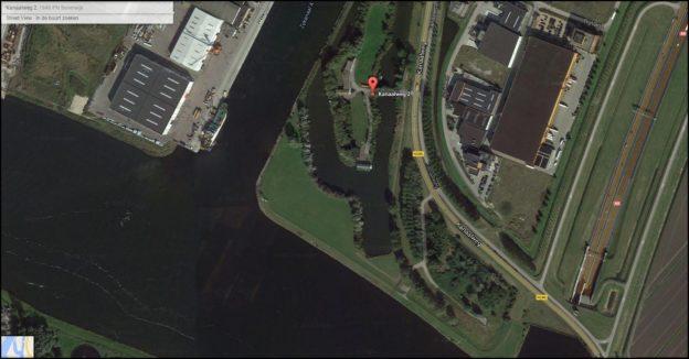Luchtfoto eiland beverwijk voorkant brochure-2